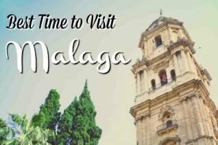 Mejor época para visitar Málaga