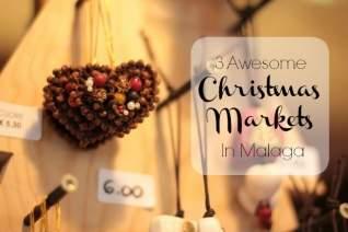 Los tres mejores mercados de Navidad en Málaga