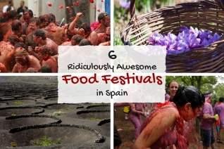 6 festivales de comida ridículamente impresionantes en España