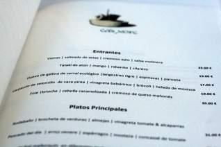 Guía de restaurantes en España: terminología del menú en español