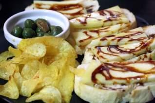 filete con salsa de jerez