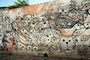 Graffiti en Granada