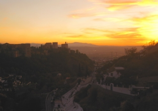 7 lugares espectaculares para ver el atardecer en Granada