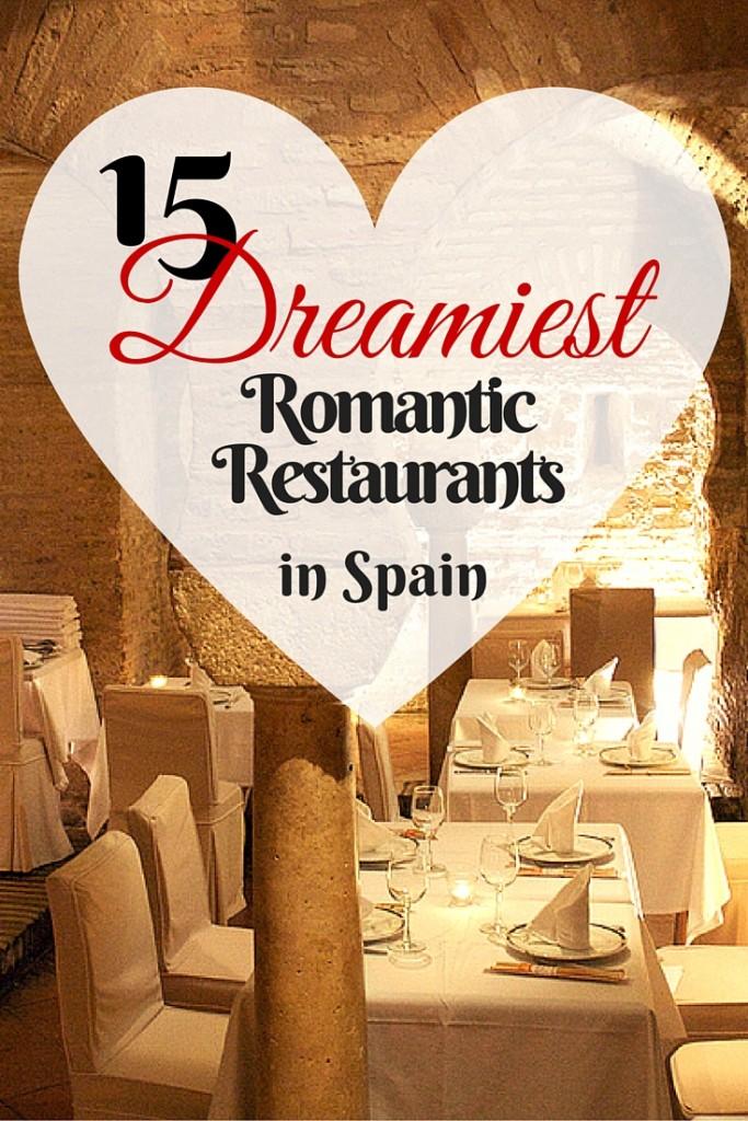 El idioma no es lo único romántico de estar en España. ¡Este país tiene algunos puntos increíbles, desde restaurantes en la costa hasta cuevas árabes centenarias!