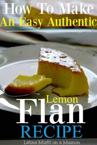 Cómo hacer que mi madre sea sencillamente increíble Flan de limón auténtico