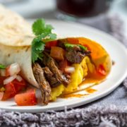 Burrito de desayuno Barbacoa