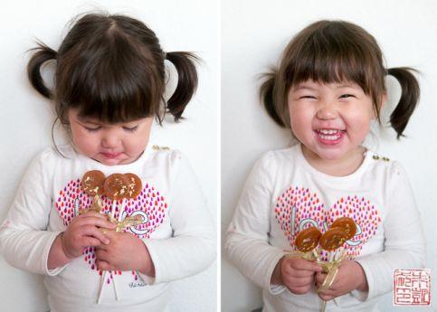 Caramelo Fleur de Sel Lollipops Isabelle 3
