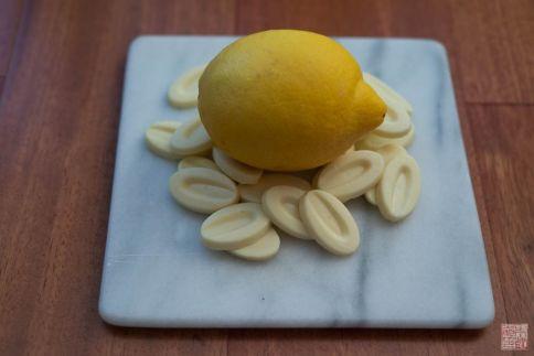 choc de limón y blanco