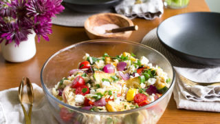 Orzo Pasta Salad with Feta