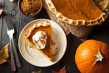 Tradición de Acción de Gracias: Pastel de calabaza de Libby   31Daily.com