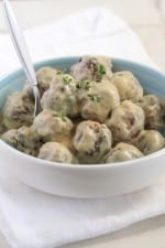 "Albóndigas caseras de fiesta con salsa de crema de mostaza dulce y picante ""data-jpibfi-post-excerpt ="" ""data-jpibfi-post-url ="" https://picky-palate.com/homemade-party-meatballs-with-sweet- y salsa de crema de salsa de mostaza con salsa de crema de mostaza dulce y picante ""data-jpibfi-src ="" https://picky-palate.com/ wp-content / uploads / 2015/05 / Homemade-Party-Meatballs-with-Sweet-and-Spicy-Mustard-Cream-Sauce-20-150x225.jpg ""/> Tiempo de preparación: <span class="