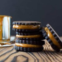 Galletas De Chocolate Dulce De Leche