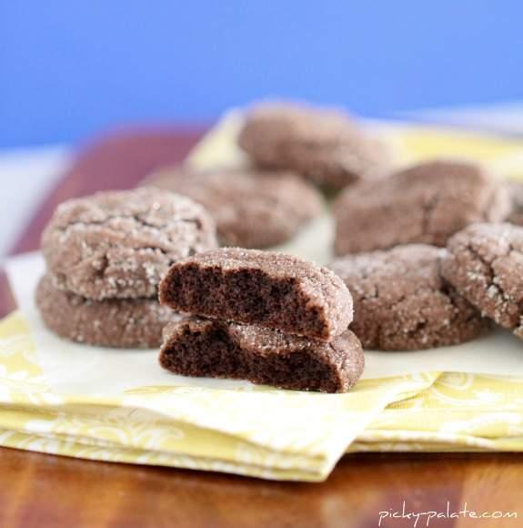 Galletas de jengibre de chocolate suave - Paladar exigente