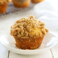Muffins De Streusel De Canela