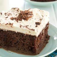 Tarta De Chocolate Tres Leches