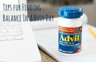 Consejos para encontrar el equilibrio en un día ocupado