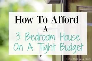 Cómo encontrar una casa de 3 dormitorios para alquilar con un presupuesto ajustado