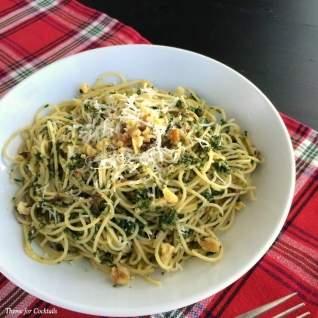 Pesto de kale y guisante verd
