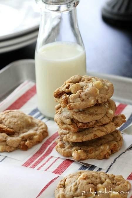 Galletas de chispas de chocolate blanco Biscoff Crunch