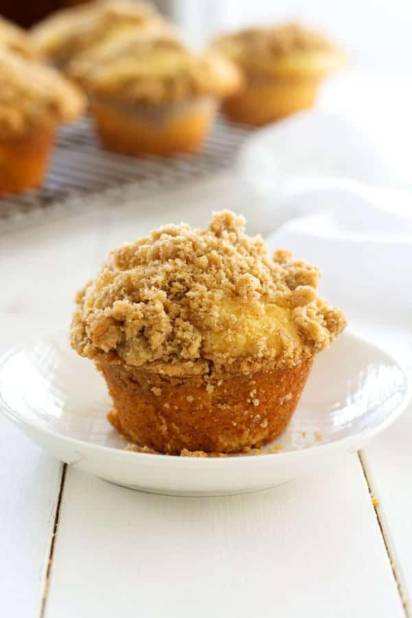 Muffins De Canela Streusel   Cocina Gidget