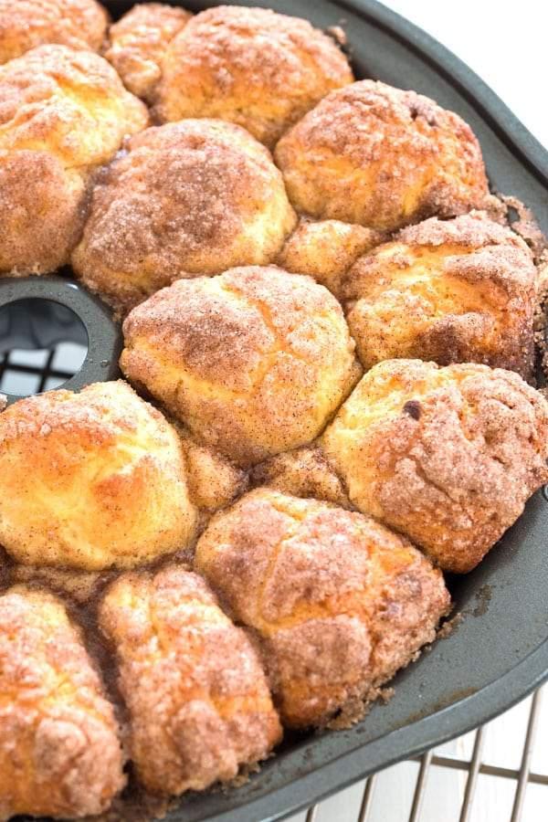 Pan de mono desde cero - ¡receta casera fácil!