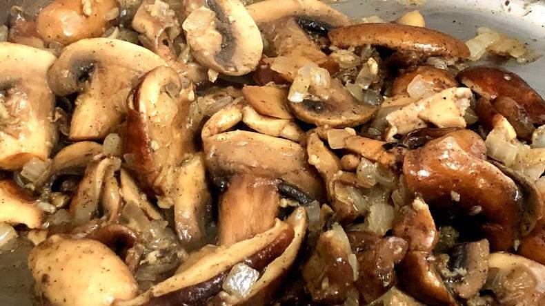 Receta de sopa cremosa de champiñones - Degustación de Puerto Rico