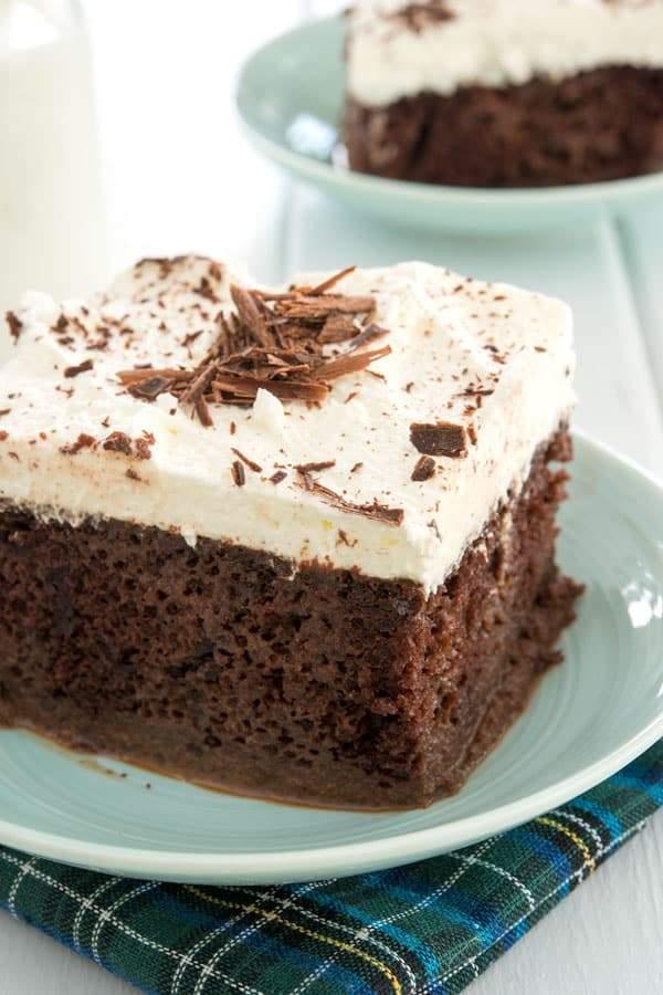 Tarta de chocolate Tres Leches (receta fácil!)