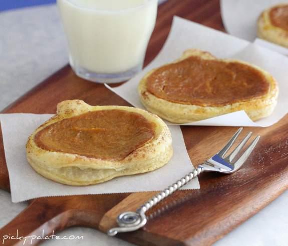 Tartas De Pastel De Calabaza Tostadas Y Tostadas