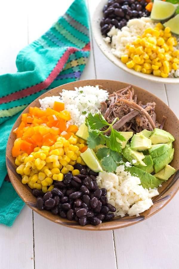 Tazón De Burrito Hecho En Casa   Cocina Gidget