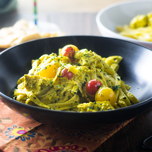 Pasta Curry Amarilla - Alimenta Tu Alma También