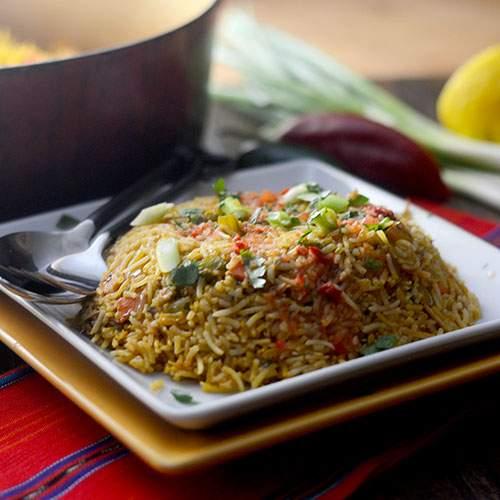 Ecuadorian Chicken and Rice