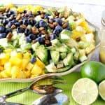 Ensalada De Mangos De Aguacate Con Pistachos