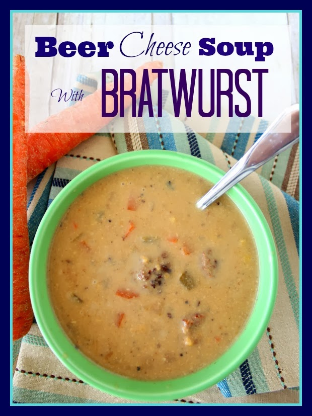Sopa De Queso De Cerveza Con Receta De Bratwurst