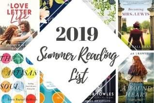 Lista de lectura de verano de 2019