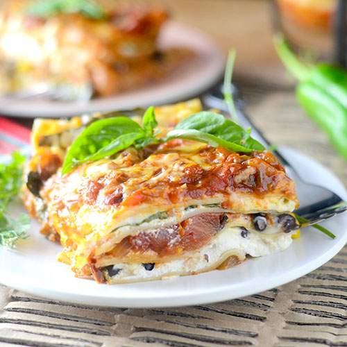 Mexican Lasagna #Pasta #fusion #Mexicanfood
