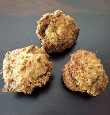 Gluten-Free Banana Chocolate Chip Muffin