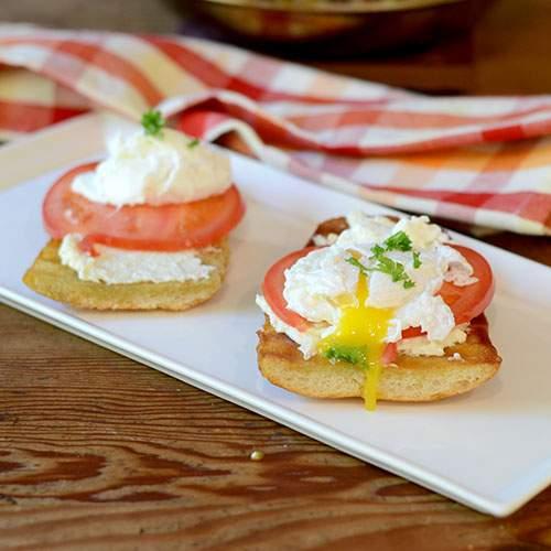 Sándwich de huevo escalfado - Alimenta tu alma también