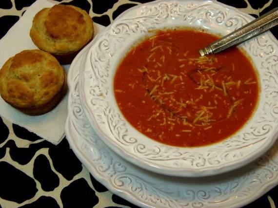Tomate asado y receta de sopa de pimiento rojo