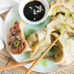 Potstickers de atún | www.brunchnbites.com
