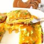 Huevo Sandwich Desayuno Cazuela