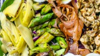 Chimichurri Ensalada De Pollo A La Parrilla Y Receta De Verduras