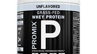 Contenedor de nutrición ProMix de proteína de suero alimentado con pasto sin sabor, 1 libra