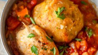 Receta fácil de pollo y mofongo