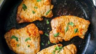 La mejor receta de chuletas de cerdo fritas