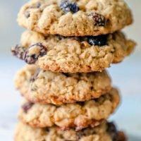 La mejor receta de galletas de pasas de avena masticables