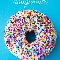 Receta De Donut De Pastel De Cumpleaños