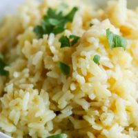 La mejor receta fácil de arroz pilaf