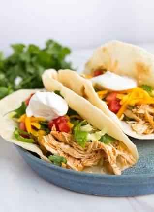 Tacos De Pollo Instantáneos