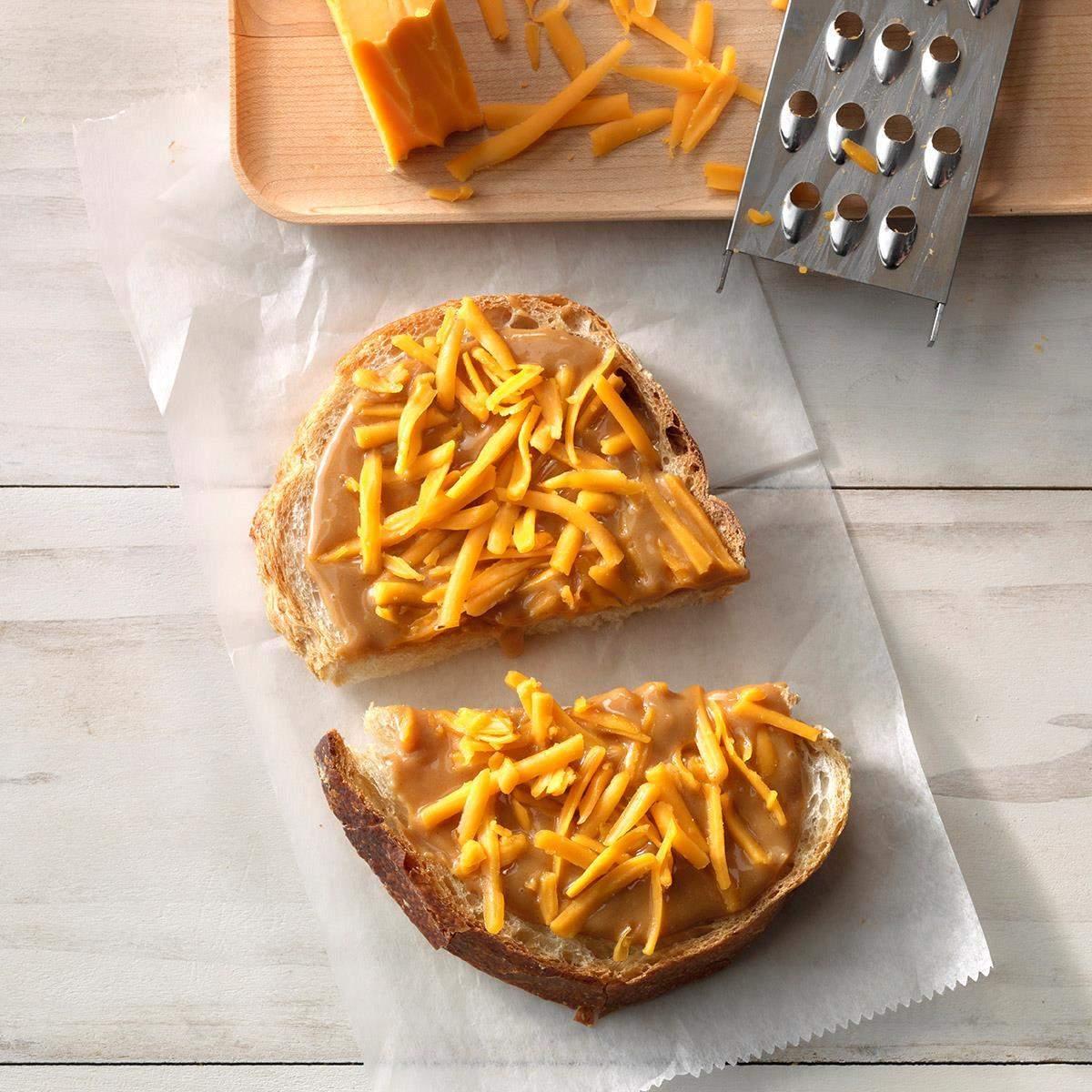 Mantequilla de maní al sur receta de sándwich