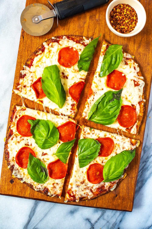 Perfect Coliflor Pizza Crust + Cómo Video